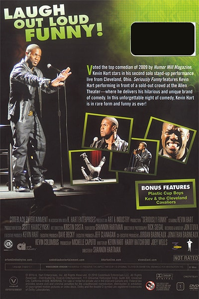 Kevin Hart, Seriously Funny DVD, Comedian Photography © Amy Weiser, Photographer