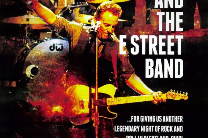 Bruce Springsteen Thanks Trade Ad in Pollstar Magazine, Published Photography © Amy Weiser, Photographer