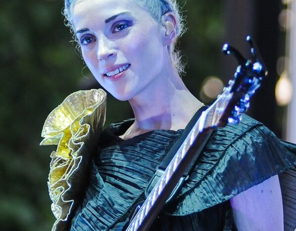 St. Vincent Live in Concert at Pitchfork Music Festival 2010 © Amy Weiser, Photographer