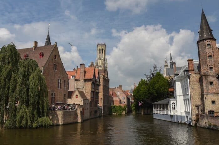 Bruges, Belgium Cityscape Travel Photography © Amy Weiser, Photographer